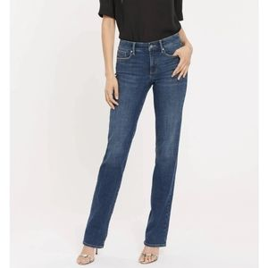 NYJD Marilyn Straight Jeans PLUS SIZE 22WP Petite